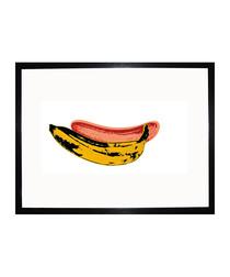 Banana 1966 framed print