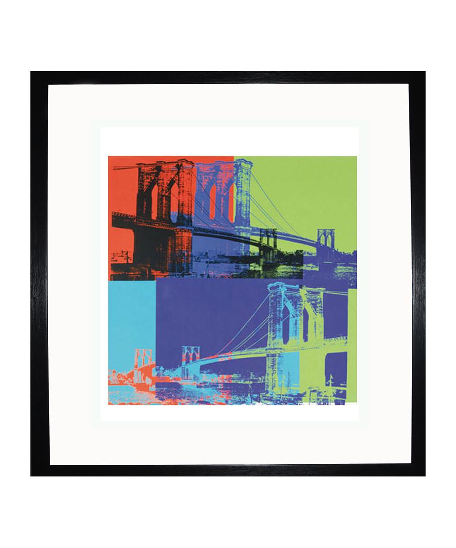 Brooklyn Bridge 1983 framed print Sale - Andy Warhol