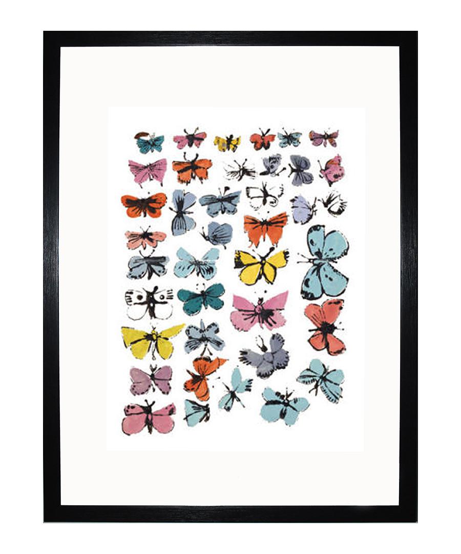 Butterflies 1955 framed print Sale - Andy Warhol