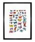 Butterflies 1955 framed print Sale - Andy Warhol Sale