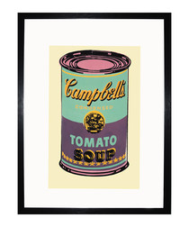 Green Campbell's Soup Can 1965 print