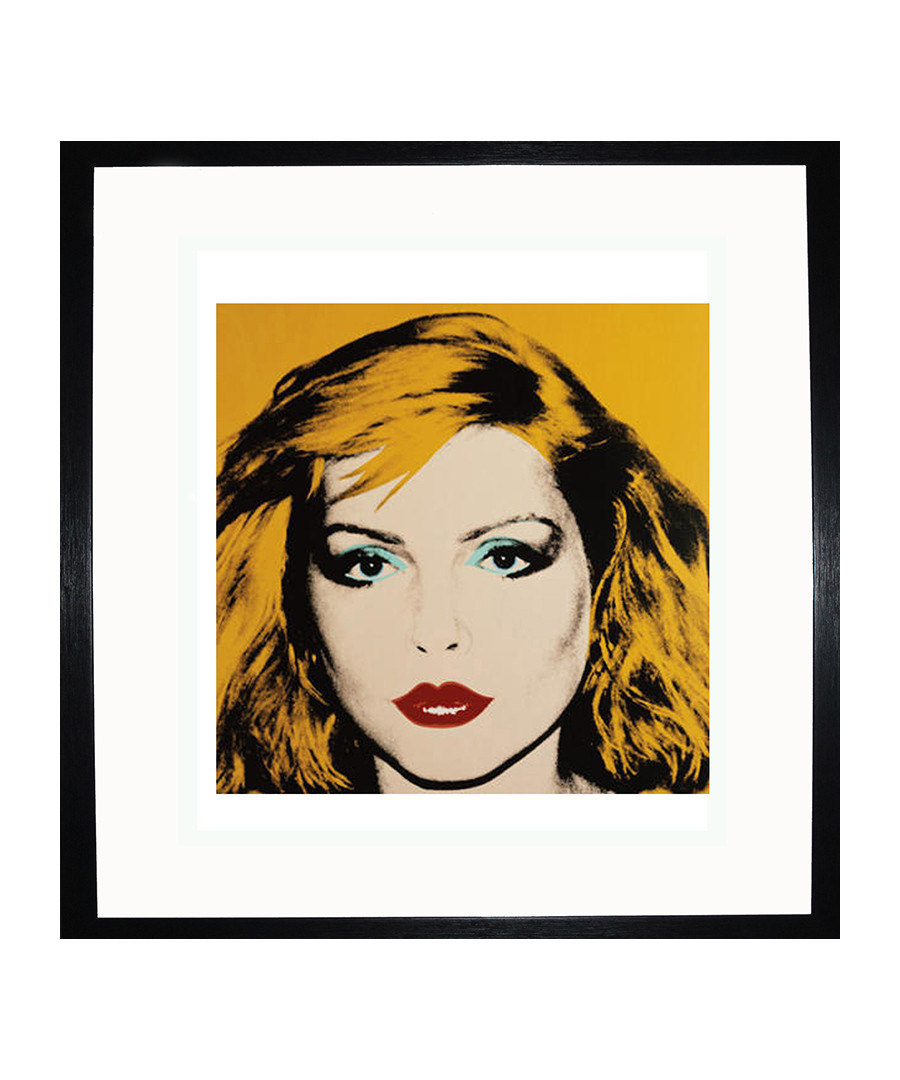 Debbie Harry, 1980 framed print Sale - Andy Warhol