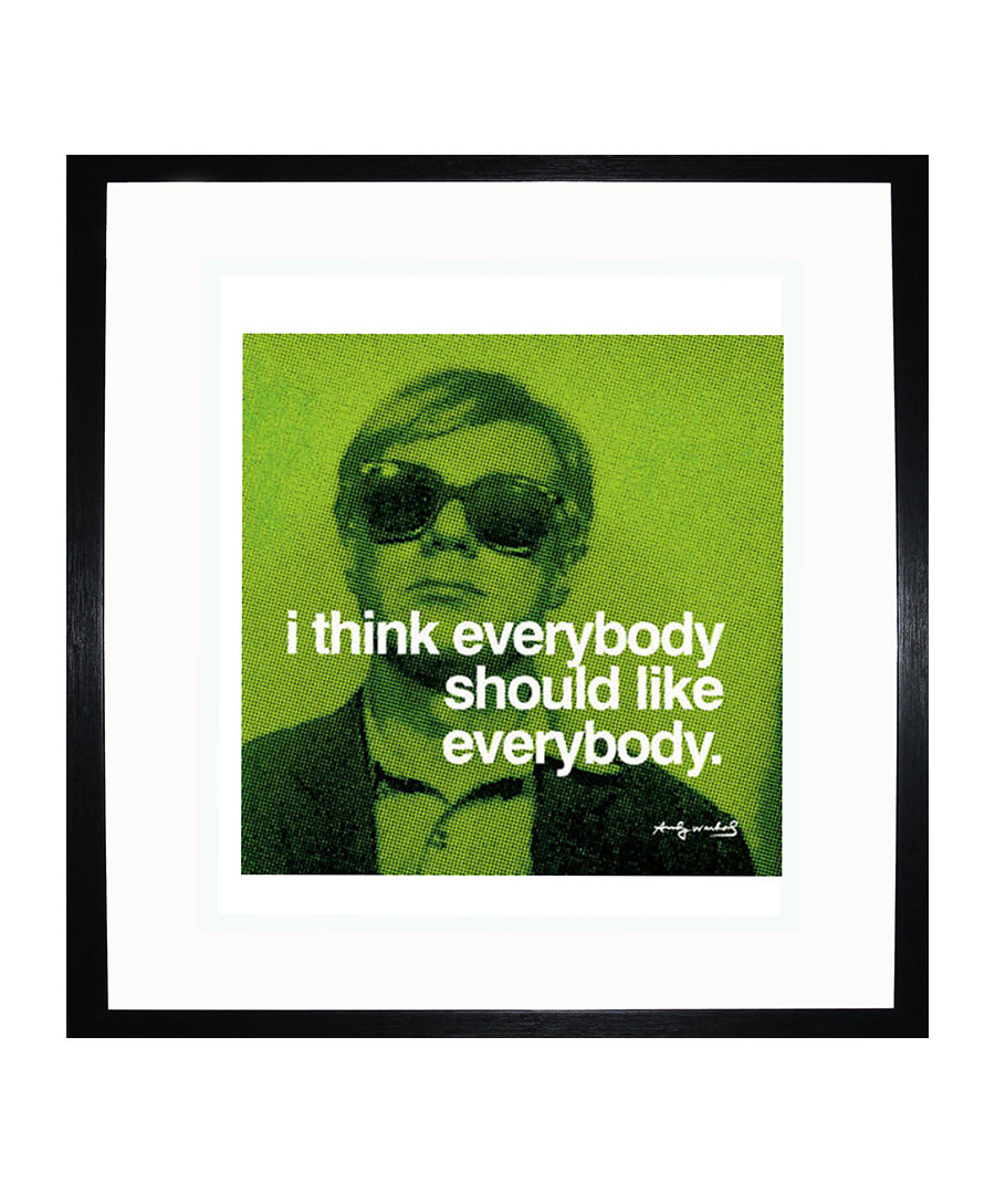 Everybody quote framed print Sale - Andy Warhol