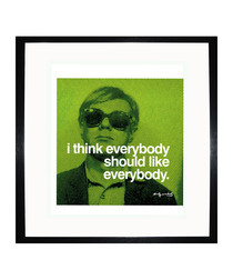 Everybody quote framed print