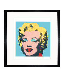 Green Marilyn 1967 framed print