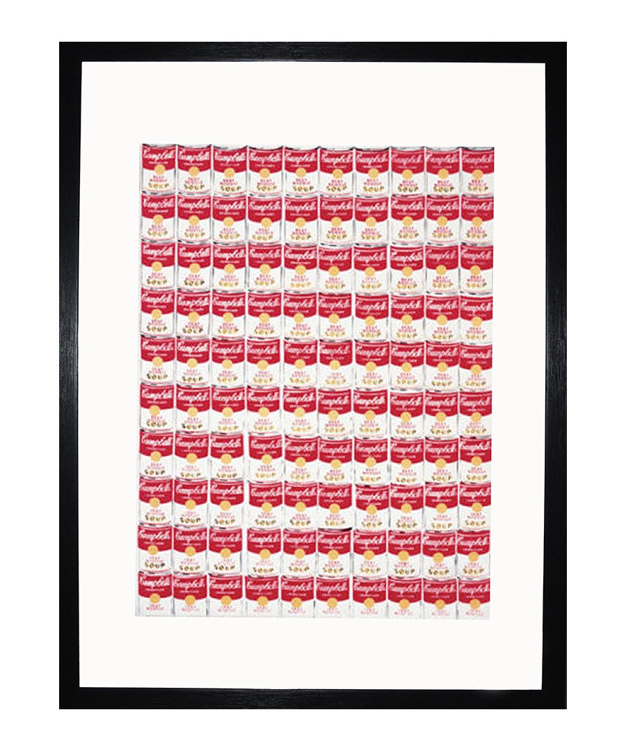 One Hundred Cans 1962 framed print Sale - Andy Warhol