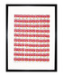 One Hundred Cans 1962 framed print Sale - Andy Warhol Sale