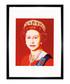 Queen Elizabeth II 1985 framed print Sale - Andy Warhol Sale
