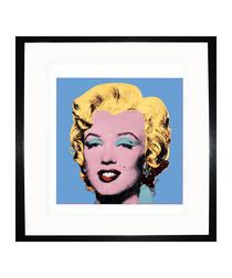 Blue Marilyn 1964 framed print