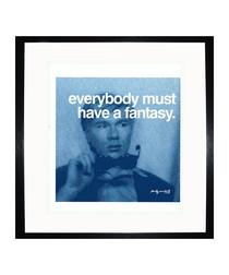 Fantasy quote framed print