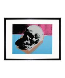 Skull 1976 framed print