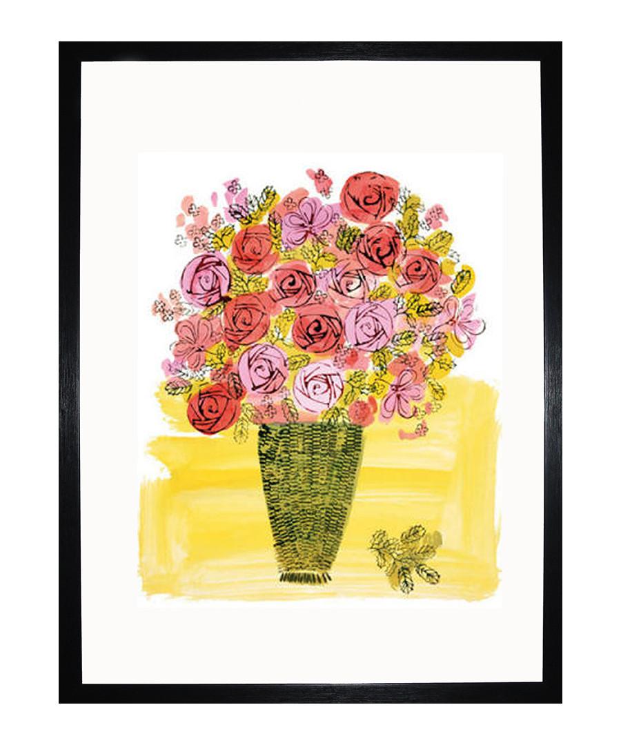 Basket Of Flowers 1958 framed print  Sale - Andy Warhol