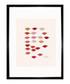 Stamped Lips 1959 framed print Sale - Andy Warhol Sale