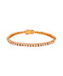 24k gold-plated crystal bracelet Sale - orcea Sale