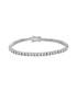 Silver-tone crystal set bracelet Sale - orcea Sale
