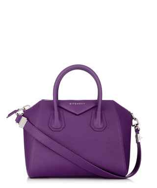 47f8231d5c Antigona small purple leather tote Sale - Givenchy Sale