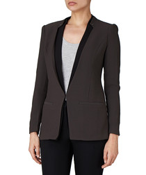 Forum collarless blazer