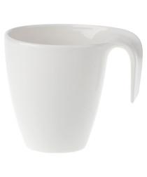Image of Flow white porcelain mug