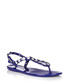 Supermodel Jelly blue jewel sandals Sale - Holster Sale