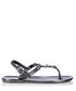 Rockstar Jelly graphite jewel sandals Sale - Holster Sale
