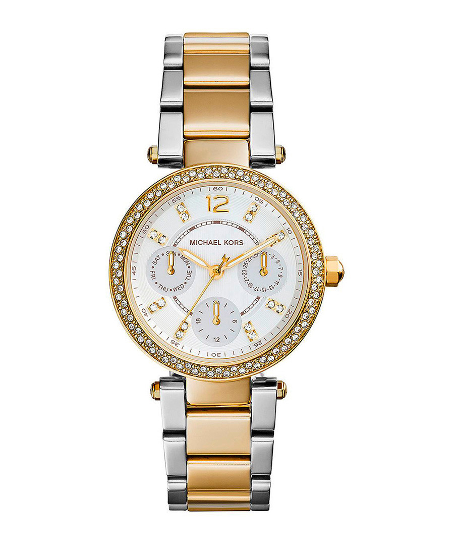 Mini Parker two-tone embellished watch Sale - Michael Kors