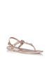 Rockstar Jelly champagne stud sandals Sale - Holster Sale