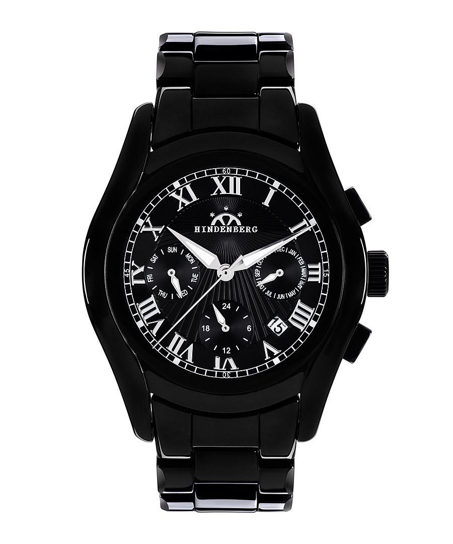 Overcast black ceramic watch Sale - hindenberg