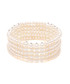 0.5cm freshwater pearl stacked bracelet Sale - Windsor Pearl Sale