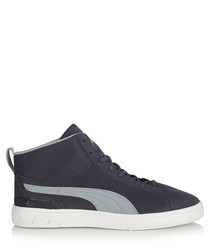 Future Suede Mid navy sneakers