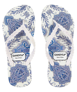 e7804064ca3ff7 Men s Liberty white   blue flip-flops Sale - Gandys Sale