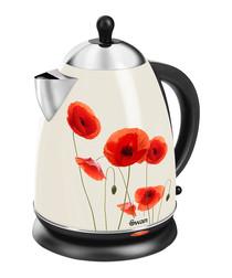 Image of Poppy print jug kettle 1.7L