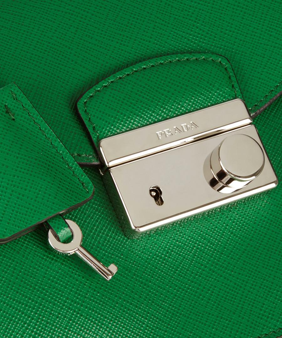 Prada Green \u0026amp; black leather cross body bag, Designer Bags Sale ...