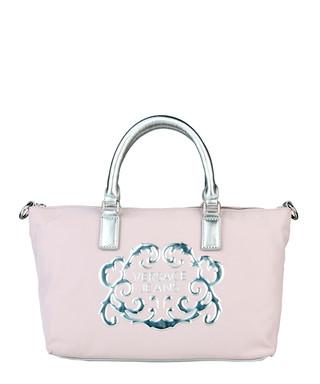 c62b6e63c0 Pink   silver applique canvas tote Sale - Versace Jeans Sale