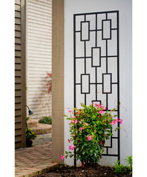 Contemporary garden trellis