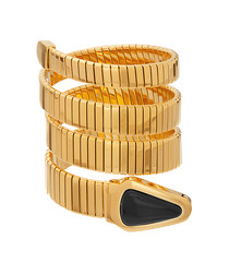 18ct gold-plated wrap-around bracelet