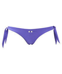 Indigo nautic tie side bikini brief