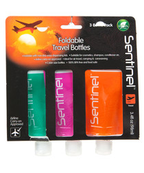 3pc three travel bottles 98ml