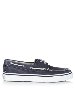 997cab591754b6 Men s Bahama washed navy boat shoes Sale - SPERRY Sale