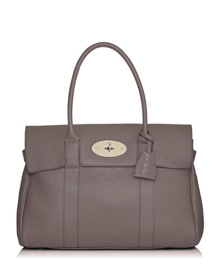6d719289db4a Bayswater small mole grey leather bag Sale - Mulberry Sale