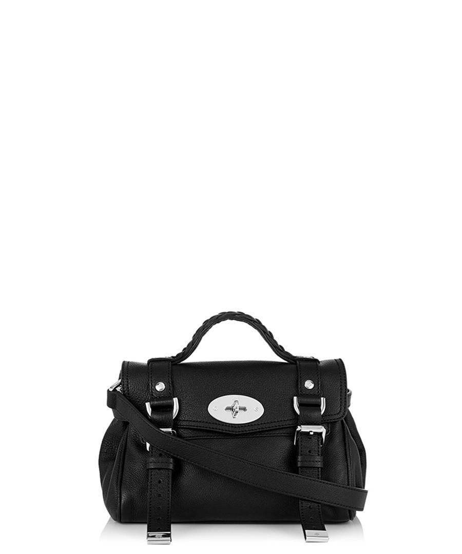 e5e1b2e056 Mini Alexa black leather satchel Sale - Mulberry