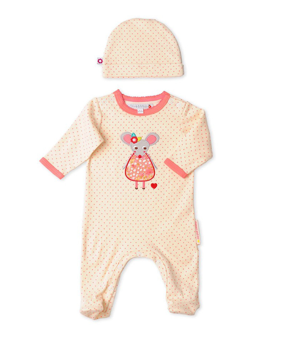 Girl's Margot newborn playsuit & hat Sale - Olive & Moss