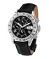 Le Capitaine black leather watch Sale - andre belfort Sale