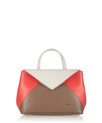 Kelis Ares off-white leather tote bag