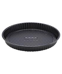 Black steel flan tin
