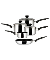 Image of 5-piece stainless steel set