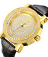 Hendrix 18ct gold-plated diamond watch Sale - jbw Sale
