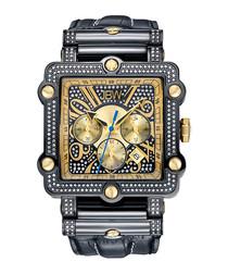 Phantom gold-plated & 238 diamond watch