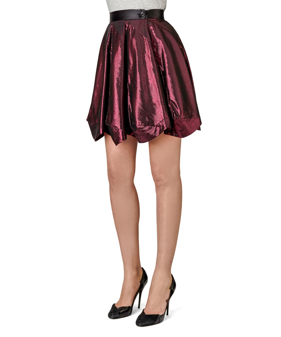 24bd2e0afb Red lamé party suiting skirt Sale - Vivienne Westwood Red Label ...
