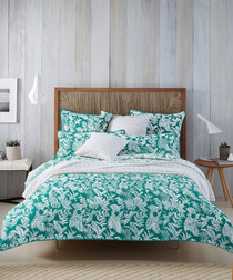 Image of 2pc Coral Reef cotton pillowcase set