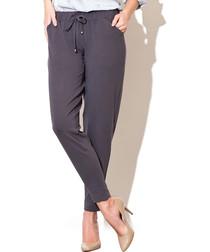 Grey elasticated waist trousers